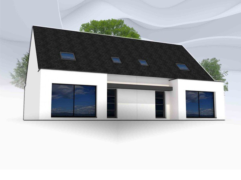 Maison+Terrain de 5 pièces avec 3 chambres à Hinglé 22100 – 159480 € - MENG-19-08-31-28