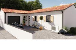 Maison+Terrain de 4 pièces avec 3 chambres à Dompierre sur Mer 17139 – 354000 € - ECHA-20-01-17-34