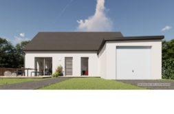 Maison+Terrain de 3 pièces avec 2 chambres à Miniac Morvan 35540 – 191460 € - SMAR-20-10-02-17