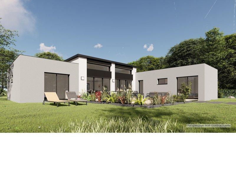 Maison+Terrain de 5 pièces avec 3 chambres à Lacroix Falgarde 31120 – 397663 € - OSE-19-09-12-5