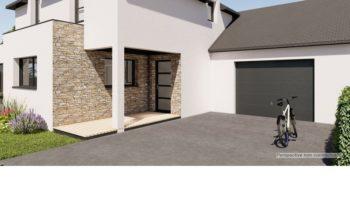Maison+Terrain de 6 pièces avec 4 chambres à Romagné 35133 – 228488 € - RHAM-19-10-28-106