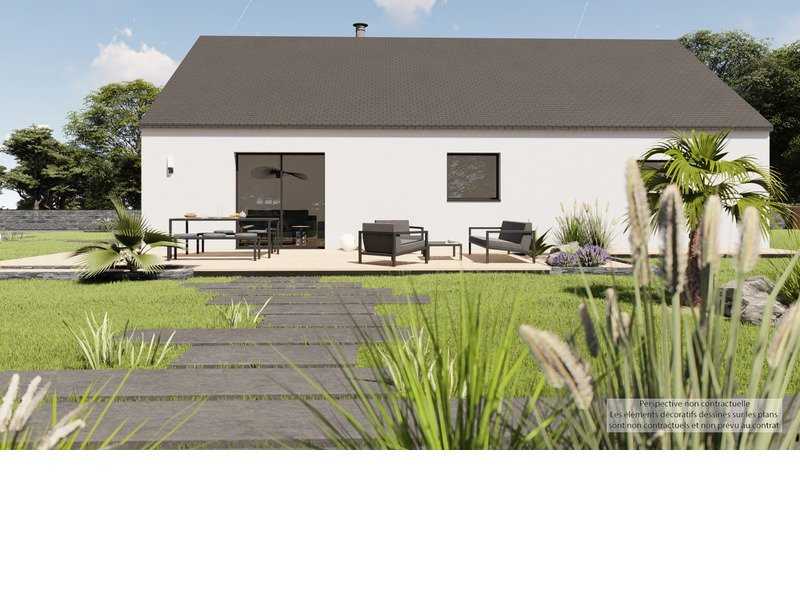 Maison+Terrain de 3 pièces avec 2 chambres à Quintin  – 204481 € - CHO-20-03-06-84