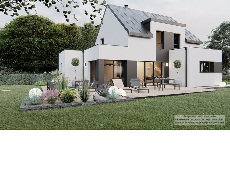 Maison+Terrain de 5 pièces avec 4 chambres à Daoulas 29460 – 304122 € - PG-20-03-30-7
