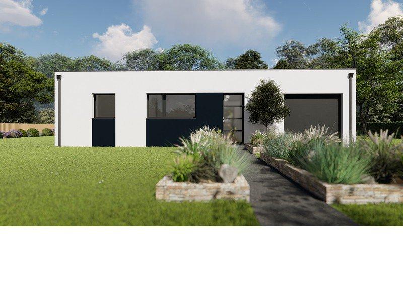 Maison+Terrain de 4 pièces avec 3 chambres à Saint Ségal 29590 – 175535 € - SCH-20-06-05-80