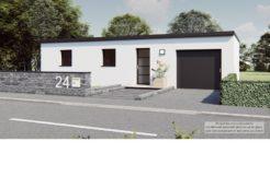 Maison+Terrain de 5 pièces avec 3 chambres à Saint-Yvi 29140 – 181103 € - EDE-20-09-29-18