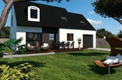 Maison+Terrain de 4 pièces avec 3 chambres à Lanvallay 22100 – 233138 € - KLB-20-04-27-32