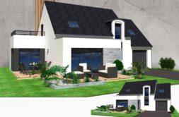 Maison+Terrain de 4 pièces avec 3 chambres à Pleslin-Trigavou 22490 – 233249 € - KLB-20-06-11-31