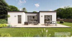 Maison+Terrain de 4 pièces avec 3 chambres à Gâvre 44130 – 211316 € - TDEC-21-02-23-11