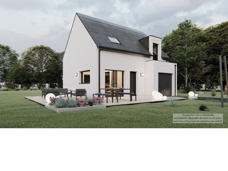 A Vendre Maison Neuve Terrain 7 Pieces 87 M Sur Terrain De 514 M A Guipavas 29490 Trecobat