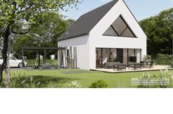 Maison+Terrain de 5 pièces avec 4 chambres à Landévant 56690 – 281102 € - YM-21-02-10-23