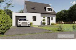 Maison+Terrain de 5 pièces avec 4 chambres à Plérin 22190 – 268446 € - JBES-20-09-22-23