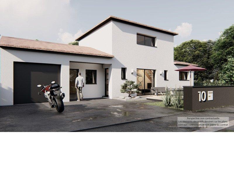 Maison+Terrain de 5 pièces avec 4 chambres à Villeneuve-lès-Bouloc 31620 – 287855 € - EHEN-21-04-30-59