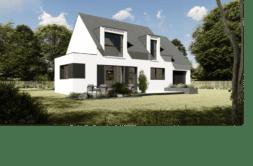 Maison+Terrain de 5 pièces avec 4 chambres à Hillion 22120 – 213430 € - ADES-21-03-10-23
