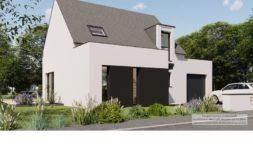 Maison+Terrain de 6 pièces avec 4 chambres à Guipavas 29490 – 255355 € - GLB-21-03-02-21