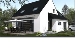 Maison+Terrain de 5 pièces avec 4 chambres à Lanhouarneau 29430 – 190762 € - RGOB-21-02-22-99