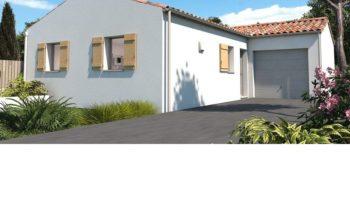 Maison+Terrain de 3 pièces avec 2 chambres à Écrosnes 28320 – 205200 € - EMLU-20-10-22-163
