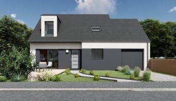 Maison+Terrain de 5 pièces avec 4 chambres à Locqueltas 56390 – 238372 € - ASPE-20-11-10-11