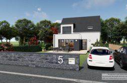 Maison+Terrain de 5 pièces avec 4 chambres à Pordic 22590 – 233058 € - LCHAR-20-11-21-6