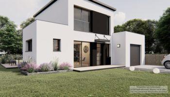 Maison+Terrain de 4 pièces avec 3 chambres à Bégard 22140 – 194031.2 € - DAI-21-06-18-15
