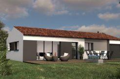Maison+Terrain de 4 pièces avec 3 chambres à Nailloux 31560 – 211311 € - JHU-21-02-05-20
