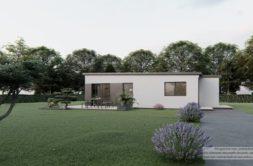 Maison+Terrain de 3 pièces avec 2 chambres à Saint-Carné 22100 – 172590 € - KDA-21-01-20-4