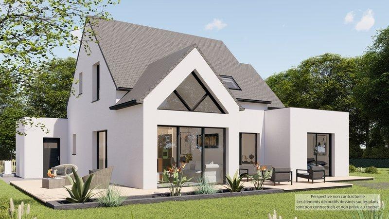 A Vendre Maison Neuve Terrain 5 Pieces 140 M Sur Terrain De 422 M A Damgan 56750 Trecobat