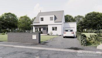 Maison+Terrain de 6 pièces avec 4 chambres à Baguer Pican 35120 – 280239 € - SMAR-20-12-20-41