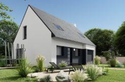 Maison+Terrain de 5 pièces avec 3 chambres à Gouesnach 29950 – 193900 € - DPAS-21-03-15-1