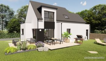 Maison+Terrain de 6 pièces avec 4 chambres à Pluguffan 29700 – 246100 € - DPAS-21-03-29-75
