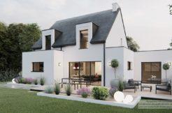 Maison+Terrain de 5 pièces avec 4 chambres à Locunolé 29310 – 223090 € - GGO-21-05-04-3