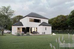 Maison+Terrain de 5 pièces avec 4 chambres à Cléguer 56620 – 278316 € - GGO-21-02-19-36