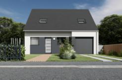 Maison+Terrain de 5 pièces avec 4 chambres à Noyal-Muzillac 56190 – 213167 € - SPED-21-04-05-41