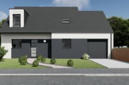 Maison+Terrain de 5 pièces avec 4 chambres à Plumelec 56420 – 210883 € - SPED-21-05-06-1