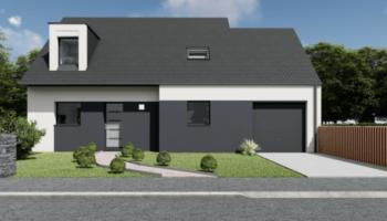 Maison+Terrain de 5 pièces avec 4 chambres à Férel 56130 – 229105 € - SPED-21-02-22-17