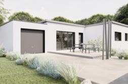 Maison+Terrain de 4 pièces avec 3 chambres à Trinité-Surzur 56190 – 237336 € - SPED-21-02-23-2