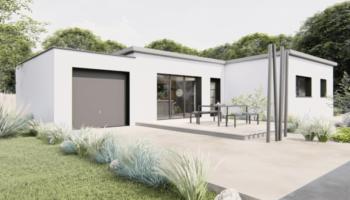 Maison+Terrain de 4 pièces avec 3 chambres à Landévant 56690 – 268652 € - SPED-21-06-09-12