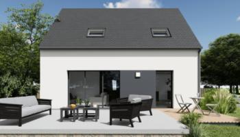Maison+Terrain de 5 pièces avec 4 chambres à Férel 56130 – 255604 € - SPED-21-07-05-44
