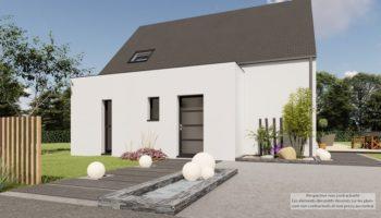 Maison+Terrain de 5 pièces avec 4 chambres à Sévignac 22250 – 202594 € - LDU-21-03-12-11