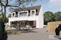 Maison+Terrain de 5 pièces avec 4 chambres à Pludual 22290 – 284273 € - LCHAR-21-04-22-9
