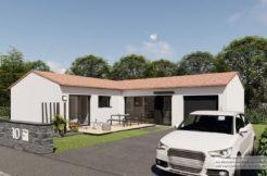 Maison+Terrain de 3 pièces avec 2 chambres à Cramchaban 17170 – 227664 € - LTU-21-04-30-3