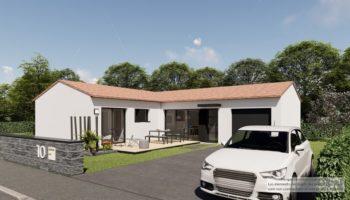 Maison+Terrain de 3 pièces avec 2 chambres à Bourgneuf 17220 – 353919 € - LTU-21-06-30-1