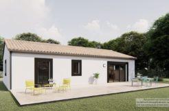 Maison+Terrain de 5 pièces avec 3 chambres à Cramchaban 17170 – 223789 € - LTU-21-04-30-4