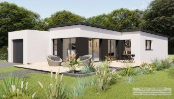 Maison+Terrain de 4 pièces avec 3 chambres à Montberon 31140 – 318168 € - IAD-21-07-05-5