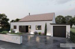 Maison+Terrain de 4 pièces avec 3 chambres à Montjoire 31380 – 322341 € - IAD-21-05-04-8