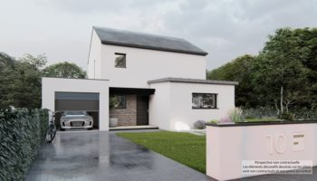 Maison+Terrain de 5 pièces avec 4 chambres à Hirel 35120 – 315929 € - AMU-21-07-14-51