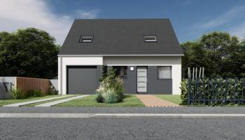 Maison+Terrain de 5 pièces avec 4 chambres à Séné 56860 – 403537 € - CDEV-21-07-21-40