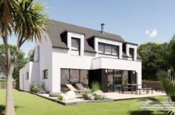 Maison+Terrain de 5 pièces avec 4 chambres à Pléguien 22290 – 268092 € - LCHAR-21-06-29-7