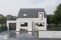 Maison+Terrain de 4 pièces avec 3 chambres à Pléguien 22290 – 224773 € - DAI-21-07-07-36