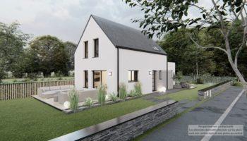 Maison+Terrain de 4 pièces avec 3 chambres à Plouédern 29800 – 256205 € - FGUE-21-10-04-20