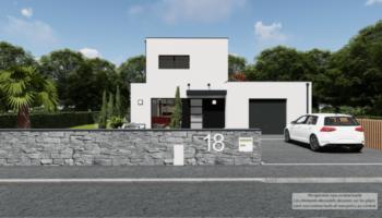Maison+Terrain de 5 pièces avec 4 chambres à Landévant 56690 – 299134 € - YM-21-10-19-15
